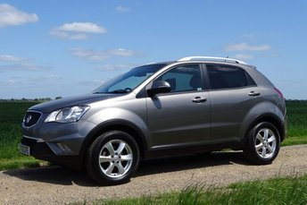 2013 SSANGYONG KORANDO 2.0 EX 5d AUTO 175 BHP £9495.00