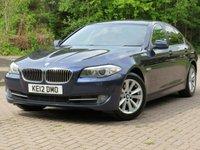 USED 2012 BMW 5 SERIES 2.0 520D EFFICIENTDYNAMICS 4d 181 BHP
