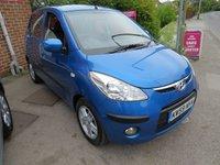 2010 HYUNDAI I10 1.2 COMFORT 5d AUTO 77 BHP £4495.00