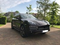 USED 2014 14 PORSCHE CAYENNE 3.0 PLATINUM EDITION D V6 TIPTRONIC 5d AUTO 245 BHP Massive Specification Low Mileage Example, FSH