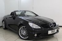 USED 2005 05 MERCEDES-BENZ SLK 55 AMG 5.4 SLK55 AMG 2DR 356 BHP SERVICE HISTORY + HEATED HALF LEATHER SEATS + SAT NAVIGATION + BLUETOOTH + CRUISE CONTROL + MULTI FUNCTION WHEEL + CLIMATE CONTROL + 18 INCH ALLOY WHEELS