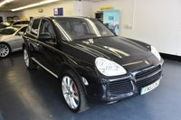 USED 2004 53 PORSCHE CAYENNE 4.5 TURBO 5d AUTO 450 BHP 1 PREVIOUS OWNER, BIG BIG SPEC !!!!!!!