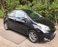 USED 2013 63 TOYOTA YARIS 1.3 VVT-I ICON PLUS 5d 99 BHP 6 MONTHS PARTS+ LABOUR WARRANTY+AA COVER