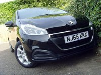 USED 2015 65 PEUGEOT 208 1.0 ACTIVE 5d 68 BHP