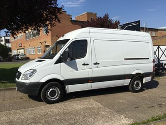 2013 MERCEDES-BENZ SPRINTER 2.1 313CDI MWB HIGH ROOF 130BHP. 1 OWNER. ONLY 94K. FSH. £8490.00