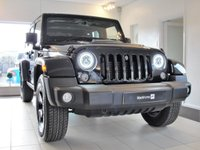 USED 2015 65 JEEP WRANGLER 2.8 CRD BLACK EDITION II 4d AUTO 197 BHP....RESERVED FOR JOANNE One of 100 Limited Edition Wranglers with LED Headlights with Halo Daytime Lights, Satellite Navigation, Black Leather Upholstery, Heated Front Seats, Gloss Black Alloys, Sculptured Bonnet, Gloss Spare Wheel Cover, Bluetooth, Multi-function Steering Wheel, Voice Command, Removable Hard Top Panels and Soft Top Option