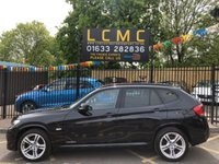 USED 2011 61 BMW X1 XDRIVE20D M SPORT STUNNING SAPPHIRE BLACK PAINT WORK, LOVELY M SPORT GREY SUEDE INTERIOR, 18 INCH DOUBLE SPOKE M SPORT ALLOY WHEELS, AIR CON, BLUETOOTH, HEATED FRONT SEATS,AIR CON, FRONT AND REAR PARKING SENSORS, SERVICE HISTORY ETC