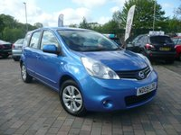 2009 NISSAN NOTE 1.4 ACENTA 5d 88 BHP £2999.00