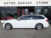 USED 2013 13 BMW 3 SERIES 2.0 318D M SPORT TOURING AUTO **PRO NAV * LEATHER ** ** PRO NAVIGATION * LEATHER **