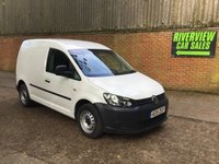 USED 2015 15 VOLKSWAGEN CADDY 1.6 C20 TDI STARTLINE BLUEMOTION TECHNOLOGY 1d 101 BHP RECENT MAIN DEALER SERVICE MOT