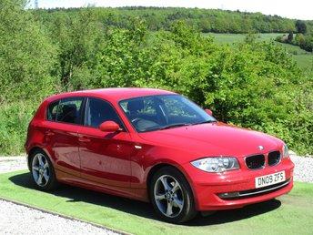 2009 BMW 1 SERIES 2.0 116D SPORT 5d 114 BHP £5500.00