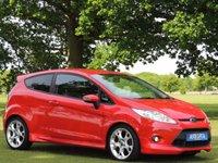 2010 FORD FIESTA 1.6 ZETEC S 3d 118 BHP £4999.00