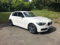 2015 BMW 1 SERIES 2.0 116D SPORT 5d 114 BHP £10490.00