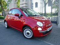USED 2013 13 FIAT 500 1.2 Lounge 3dr [Start Stop]  ****FINANCE ARRANGED***PART EXCHANGE***PANORAMIC ROOF***