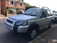 USED 2004 54 LAND ROVER FREELANDER 2.0 TD4 S STATION WAGON 5d 110 BHP DRIVES WELL!!!! FULL SERVICE HISTORY!!! READY TO GO!!!!
