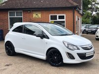 USED 2013 63 VAUXHALL CORSA 1.2 LIMITED EDITION 3d 83 BHP FULL VAUXHALL SERVICE HISTORY!