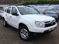 USED 2013 63 DACIA DUSTER 1.5 AMBIANCE DCI 5d 107 BHP PRICE INCLUDES A 6 MONTH RAC WARRANTY, 1 YEARS MOT WITH 12 MONTHS FREE BREAKDOWN COVER