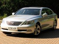 2006 LEXUS LS 4.6 460 SE-L 4d AUTO 376 BHP £8911.00