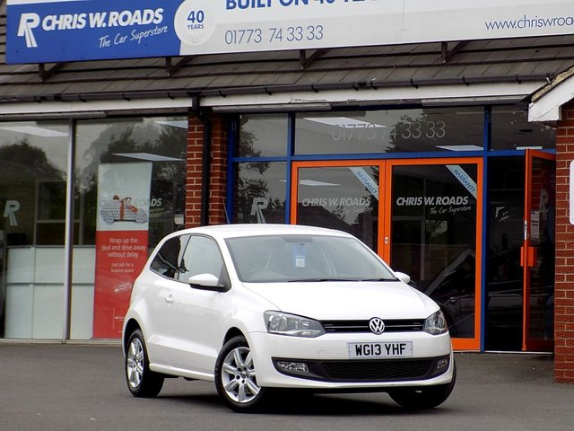 USED 2013 13 VOLKSWAGEN POLO 1.2 MATCH EDITION 3dr ** Only 2 Owners + 44000 miles **