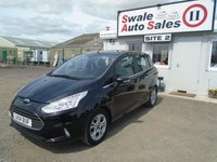 USED 2014 14 FORD B-MAX 1.0 ZETEC 5d 100 BHP £38 PER WEEK NO DEPOSIT, SEE FINANCE LINK BELOW