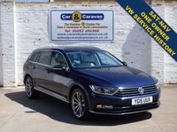 USED 2015 15 VOLKSWAGEN PASSAT 1.6 GT TDI BLUEMOTION TECHNOLOGY 5d 119 BHP One Owner Full VW History SATNAV A/C 0% Deposit Finance Available