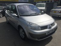 2007 RENAULT GRAND SCENIC 2.0 DYNAMIQUE VVT 5 DOOR AUTOMATIC 133 BHP IN SILVER WITH 110000 MILES TRADE CLEARANCE £899.00