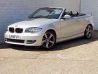 2008 BMW 1 SERIES 2.0 120I SE 2d 168 BHP £3949.00