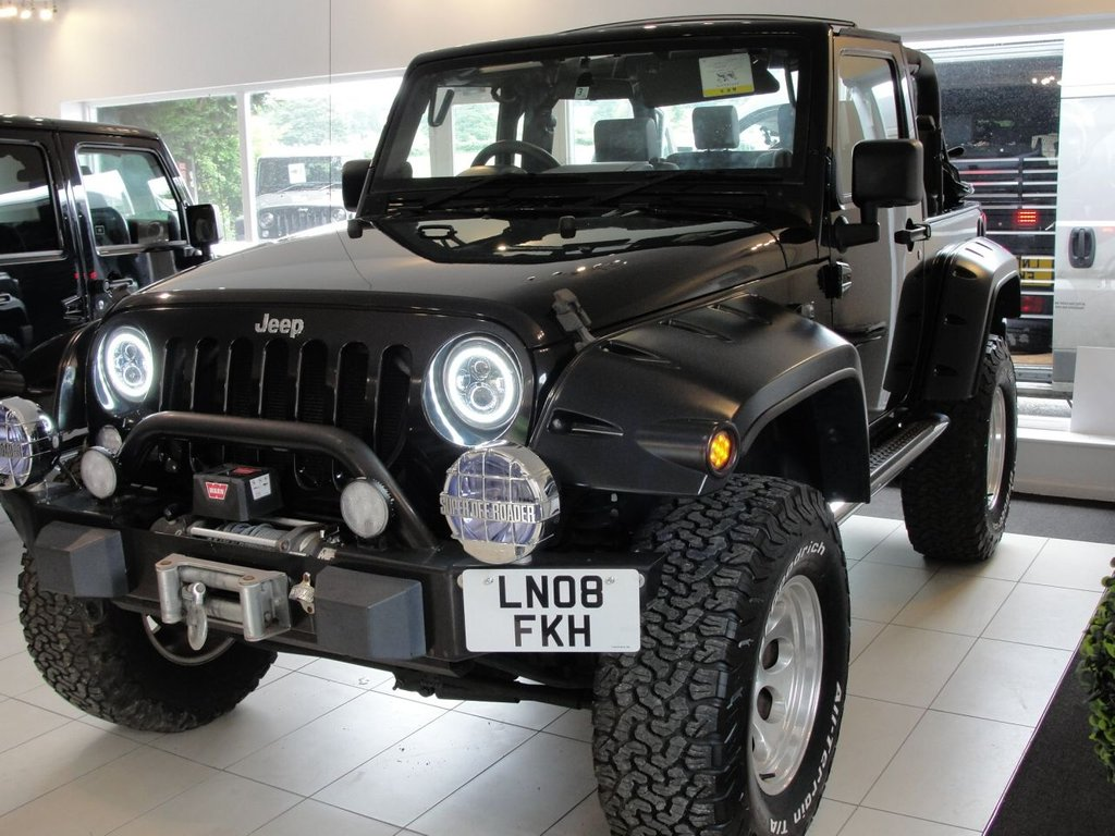 Jeep Wrangler 38 V6 Petrol Automatic Soft Top Lifted With Upgraded Winch Rear 2008 Used 08 Arches
