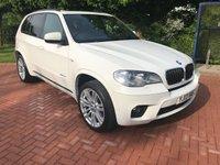 2013 BMW X5 3.0 XDRIVE30D M SPORT 5d AUTO 241 BHP £24990.00