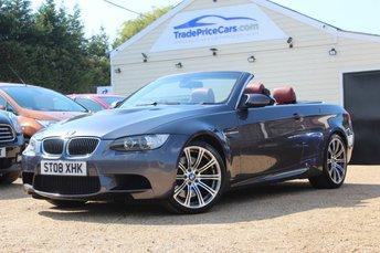 2008 BMW M3 4.0 M3 2d 414 BHP £19500.00