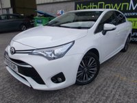 USED 2017 17 TOYOTA AVENSIS 2.0 D-4D DESIGN 4d 141 BHP Excellent Condition, FSH, One Owner, Low Rate Finance Available, No Deposit Needed, Manufacturer Warranty