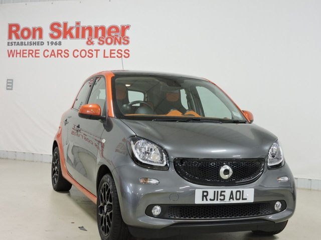 View our 2015 15 SMART FORFOUR 1.0 EDITION1 5d 71 BHP