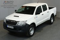 USED 2015 15 TOYOTA HI-LUX 2.5 ACTIVE 4X4D 142 BHP A/C ONE OWNER FROM NEW, SERVICE HISTORY