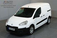 USED 2014 64 PEUGEOT PARTNER 1.6 HDI PROFESSIONAL 89 BHP SWB A/C ONE OWNER FROM NEW, SERVICE HISTORY