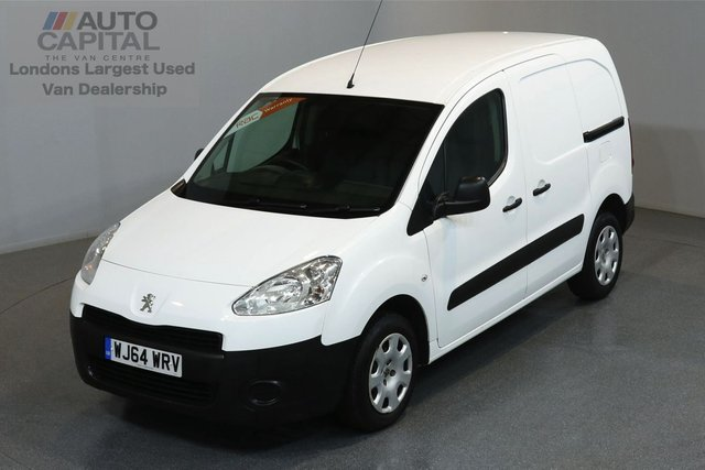 2014 64 PEUGEOT PARTNER 1.6 HDI PROFESSIONAL 89 BHP SWB A/C ONE OWNER FROM NEW, SERVICE HISTORY