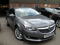 USED 2015 65 VAUXHALL INSIGNIA 1.6 SRI CDTI S/S 5d 134 BHP ANY PART EXCHANGE WELCOME, COUNTRY WIDE DELIVERY ARRANGED, HUGE SPEC