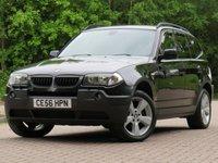 2006 BMW X3 3.0 D SPORT 5d 215 BHP £4777.00