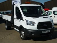 2015 FORD TRANSIT 2.2 350 Single Cab Tipper 125 BHP £14995.00