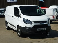 2016 FORD TRANSIT CUSTOM 2.2TDCi T290 L1 H1 Base 100 BHP £11995.00