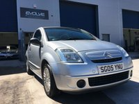 USED 2005 05 CITROEN C2 1.1 DESIGN 3d 60 BHP