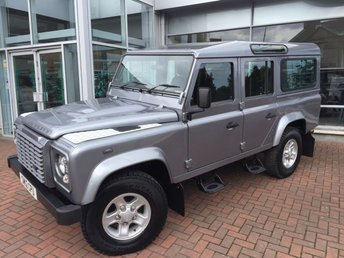 2012 LAND ROVER DEFENDER 110 2.2 TD COUNTY STATION WAGON (A/C)  5dr 122 BHP