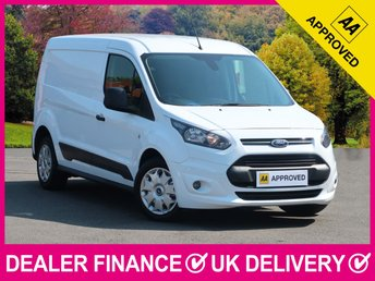 2015 FORD TRANSIT CONNECT 1.6 TDCI TREND LWB 210 L2 PANEL VAN AIR CON £7950.00