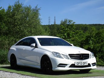 2013 MERCEDES-BENZ E CLASS 2.1 E220 CDI BLUEEFFICIENCY SPORT 2d AUTO 170 BHP £12990.00