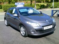 USED 2010 60 RENAULT MEGANE 1.6 DYNAMIQUE VVT 5d 110 BHP FINANCE AVAILABLE EVEN IF YOU HAVE POOR CREDIT.