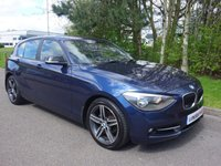 2011 BMW 1 SERIES 2.0 118D SPORT 5d 141 BHP £8290.00