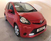 2013 TOYOTA AYGO 1.0 VVT-I MOVE WITH STYLE 5d 68 BHP £4999.00