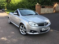 2006 VAUXHALL TIGRA 1.8 EXCLUSIV 16V 2d 125 BHP PLEASE CALL TO VIEW £1750.00