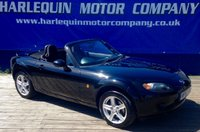 USED 2008 57 MAZDA MX-5 1.8 I 2d 125 BHP GRAB THIS ONE FOR THE SUN 2008 MAZDA MX-5 CONVERTIBLE MANUAL 1.8 BLACK  CONVERTIBLE ROOF ELECTRIC WINDOWS POWER STEERING ONLY 42000 MILES WITH SERVICE HISTORY