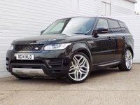 2014 LAND ROVER RANGE ROVER SPORT 3.0 TDV6 SE 5d AUTO 258 BHP £29916.00