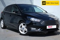 USED 2017 66 FORD FOCUS 1.0 TITANIUM 5d 124 BHP 1 OWNER + NAV + PARK ASSIST
